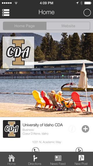 University of Idaho CDA