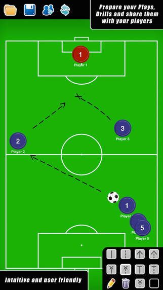 Coach Tactical Board for Football Soccer FREE