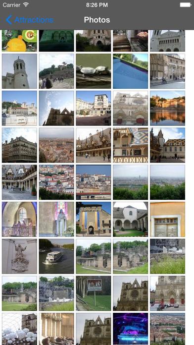 Lyon Travel Guide Offline iPhone Screenshot 2