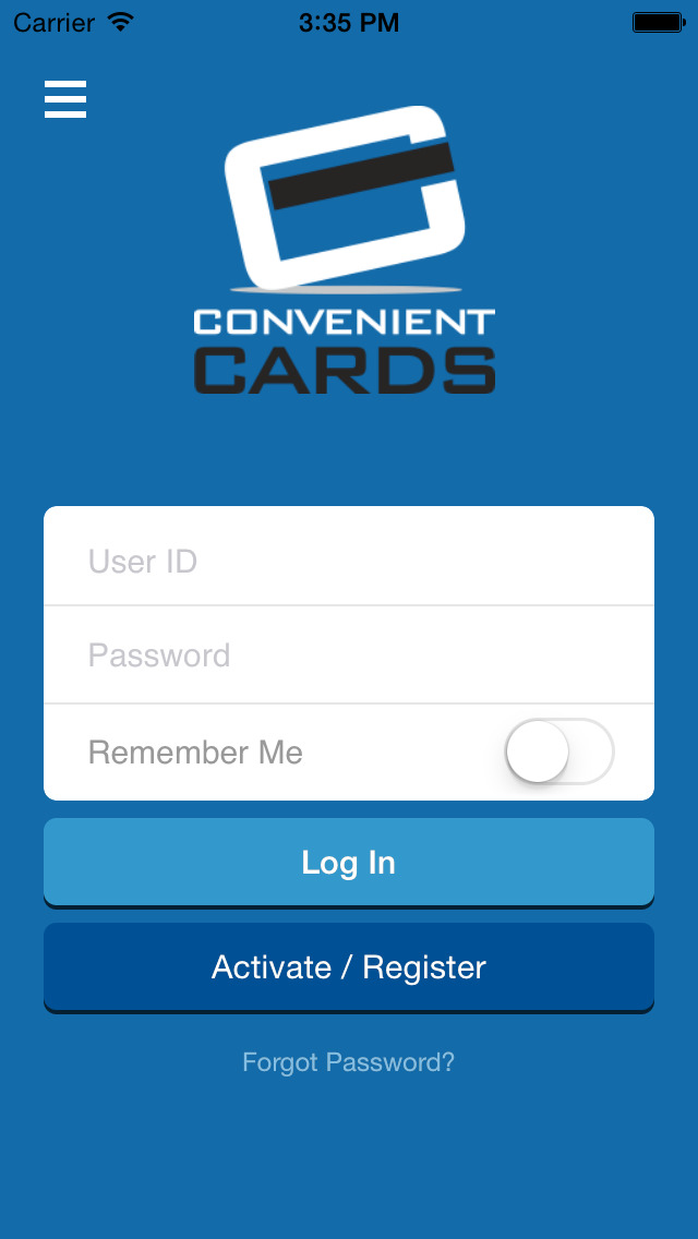 Convenient Cards – Mobile Banking