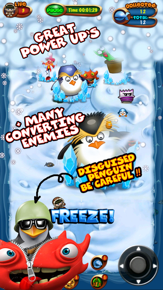 Disguised Penguins - Hard Penguin Attack in Land of Snow Ice Free Game