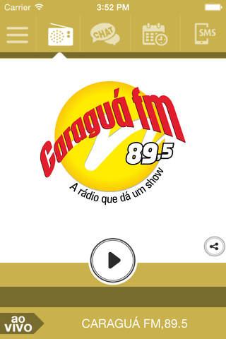Caraguá FM, 89.5 screenshot 1
