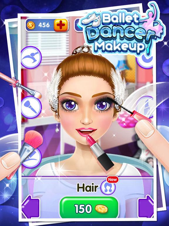 Ballet Dancer Makeup - Free Girls Gamesscreeshot 3