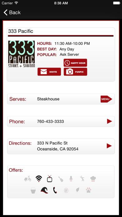 Dining Joint iPhone Screenshot 3