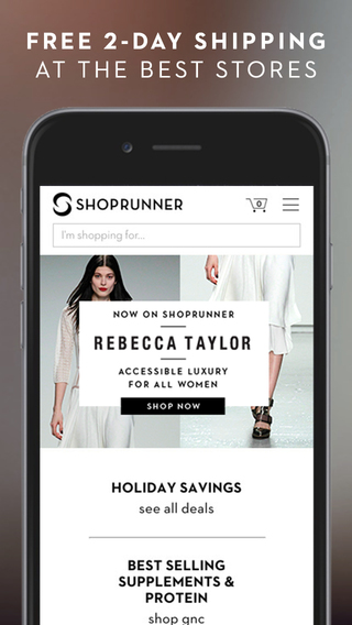 ShopRunner - Free 2 day shipping and returns on all products