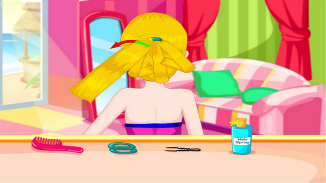 Perfect braid hairdresser 2 - The hottest hair games for girls and kids
