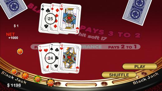 Free Casino - Blackjack Twenty-One