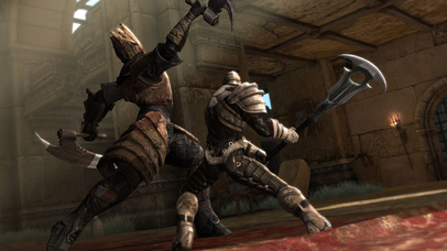 Screenshots of Infinity Blade II for iPhone