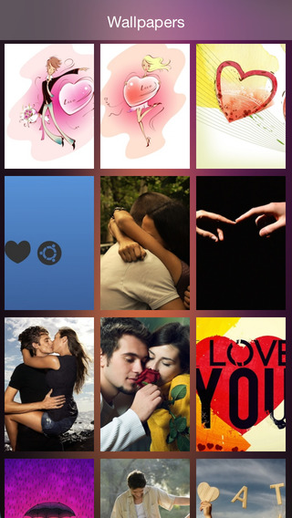 Love Wallpapers for iOS8 iPhone6 Free