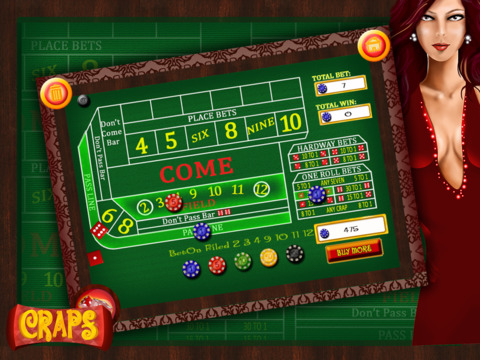 best online craps casino sizzling free games