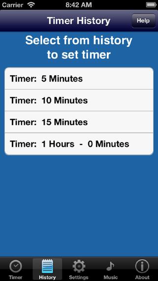 My Simple Timer iPhone Screenshot 3