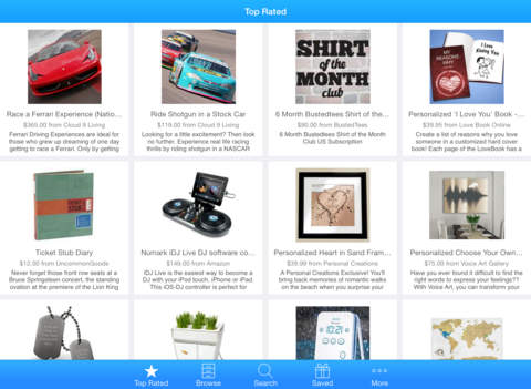 Screenshots for Gift Suggester - Gift Ideas for Every Occasion