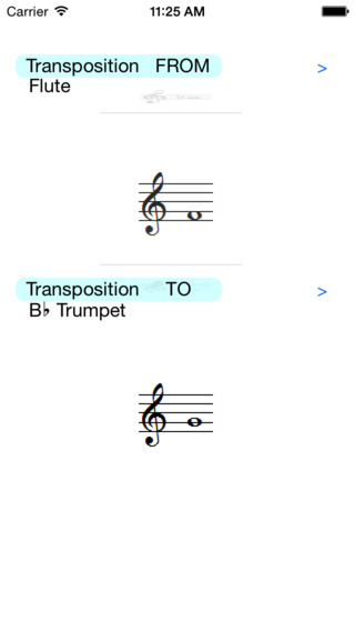 Transposition by Musical Instruments
