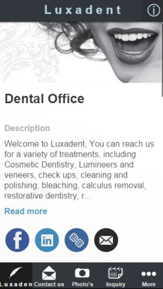 Luxadent Dental Office.