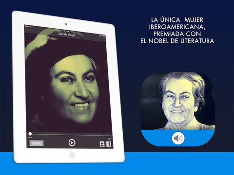 Gabriela Mistral iPad Screenshot 2