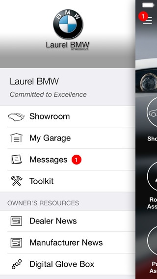 Laurel BMW DealerApp iPhone Screenshot 2