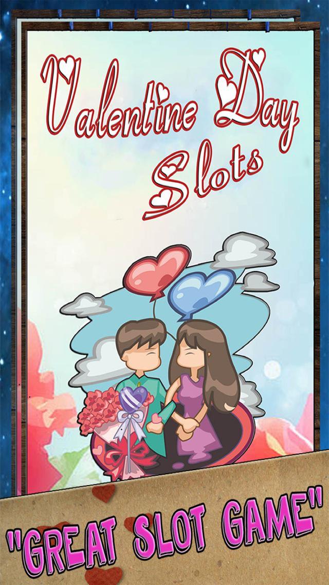 Valentine's Day Slots - Slot Machines of Love & Big Blackjack Card Games FREE