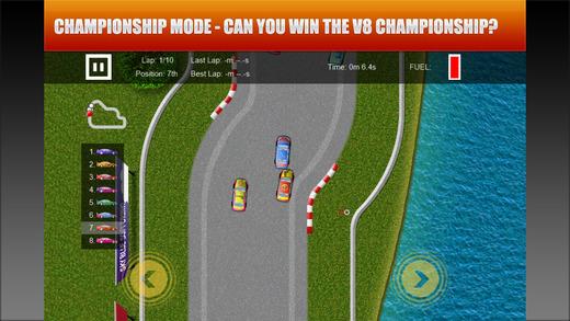 V8 Racing Game