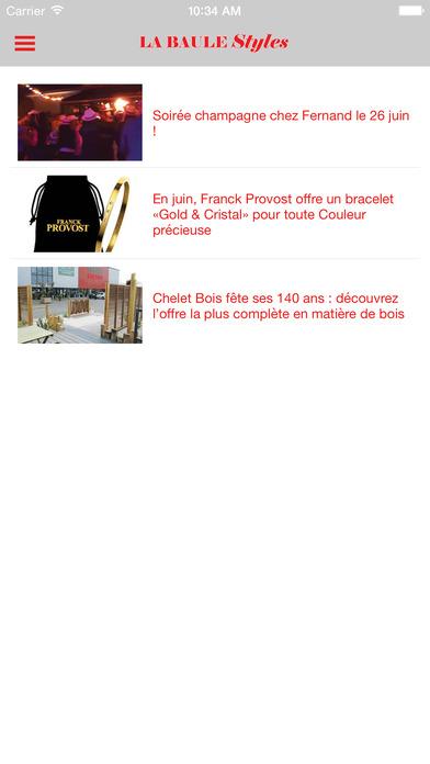 LA BAULE PLUS iPhone Screenshot 3