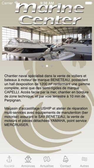 Marine Center St Cyprien