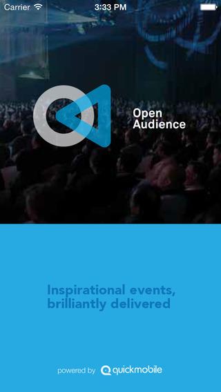 Open Audience EventApp
