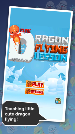 Cute Dragon Flying Lesson HD