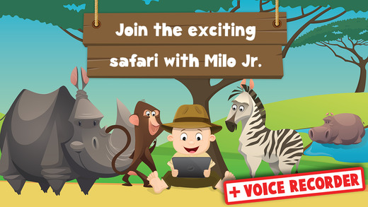 Milo's Free Safari cartoon for Tots
