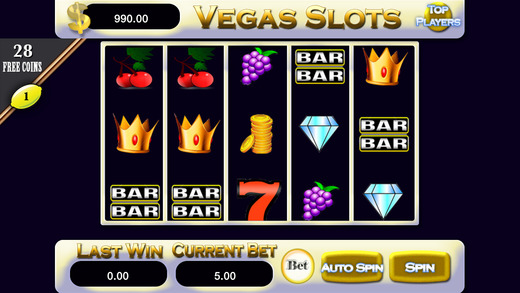 A Ace Vegas Slots - 777 Edition Slot Machine