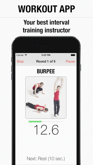 Workout - special app for interval hiit of the day and wod tabata training PRO