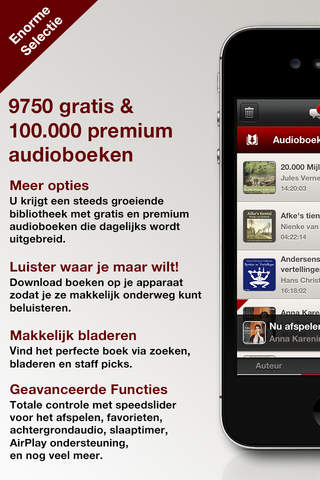 Audiobooks HQ screenshot 1