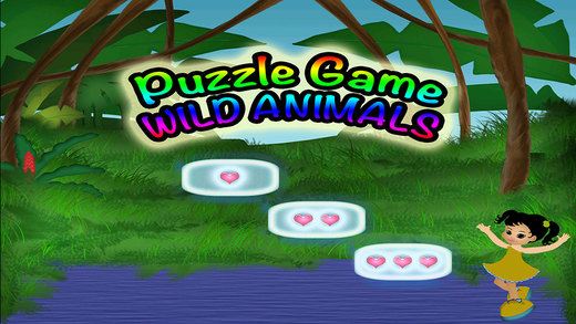 Animals Puzzles Preschool Learning Wild Experience Game