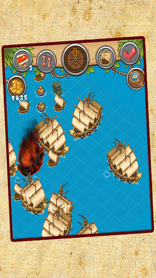 Pirates and Cannons Action Game