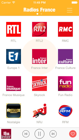 Radios France France Radios