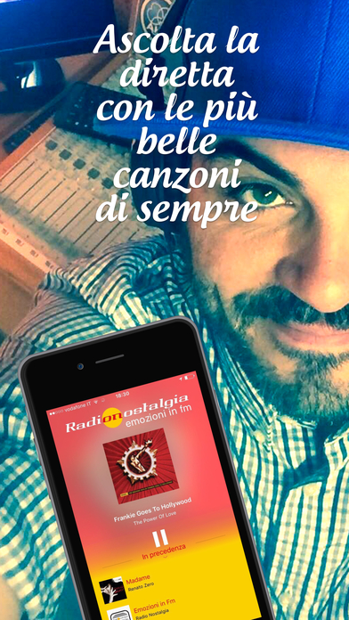 Radio Nostalgia Toscana - Lazio iPhone Screenshot 1