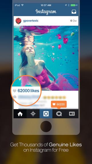 Get Likes for Instagram - Gain Liker Like4Like Get 1000 More Photo Likes for Instagram
