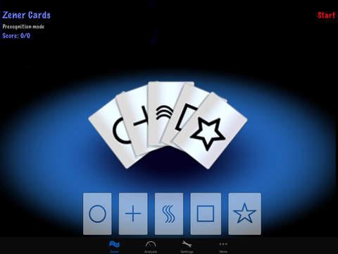 iPrecognition iPad Screenshot 1