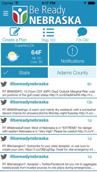 Be Ready Nebraska