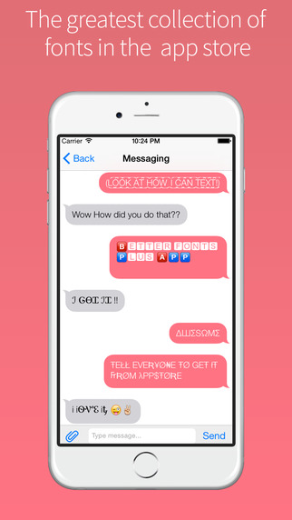 Better Fonts+ - Cool Text Keyboard for iOS 8