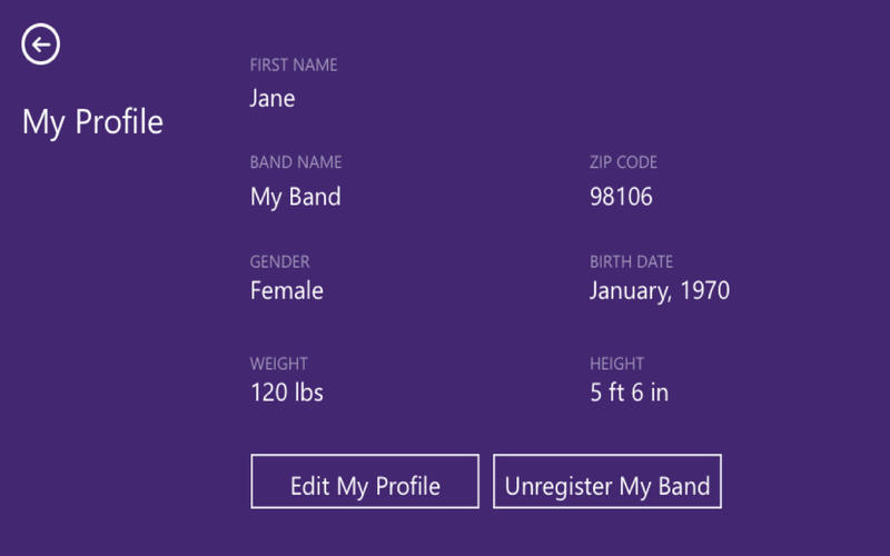 Microsoft Band Sync Screenshot - 4