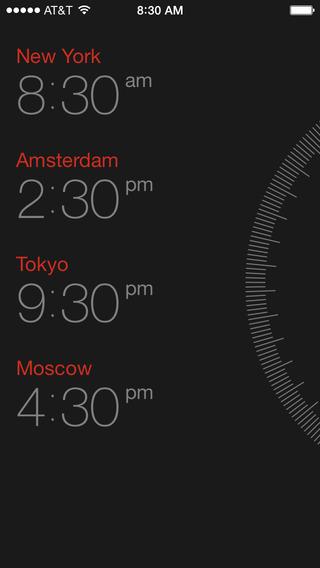 时区转换:Miranda — Time Zone Converter, World Clock & Meeting Scheduler
