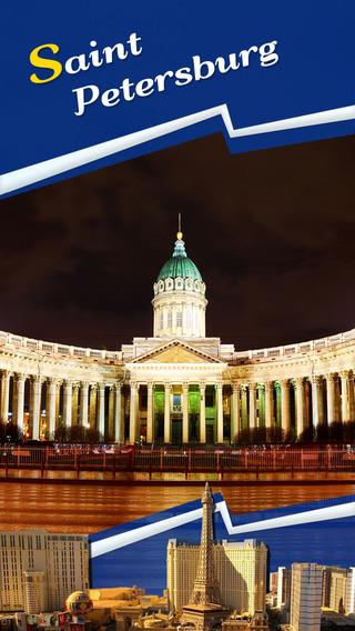 Saint Petersburg Offline Travel Guide
