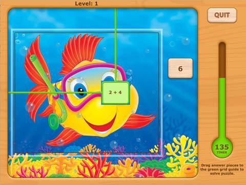 Addition UnderSea Adventures Games HD Free Lite - for iPad iPad Screenshot 1