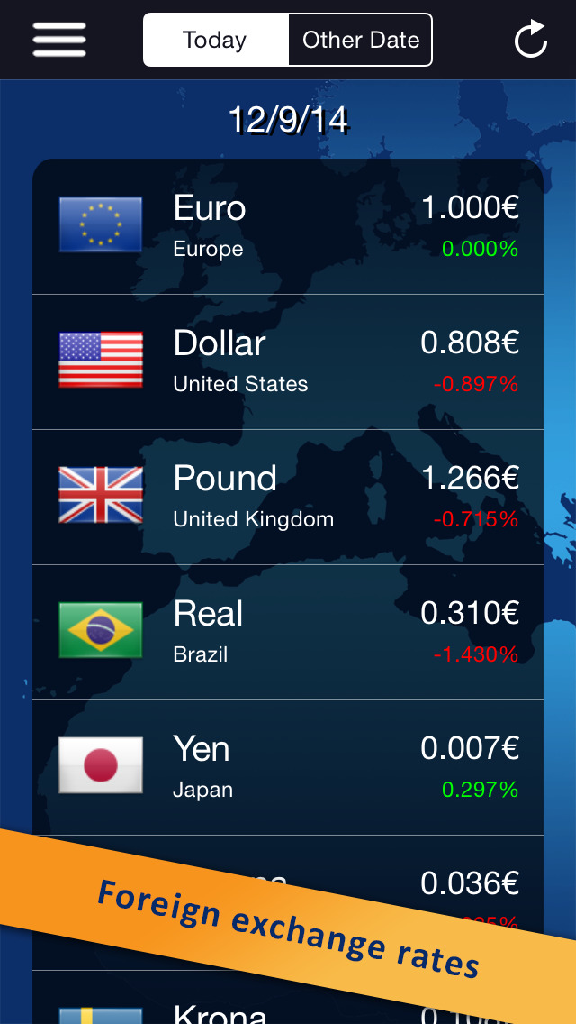 classic currency converter (foreign exchange rates) (ios)