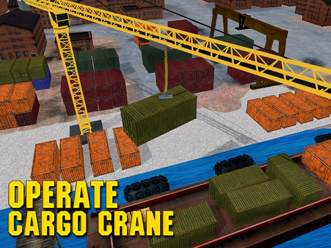 Cargo Crane Transporter Sim