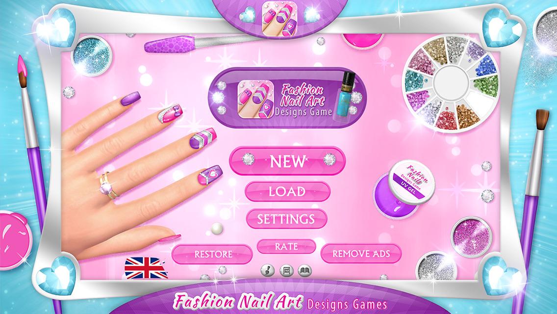Игры дизайна ногтей