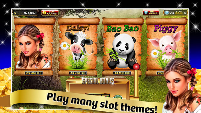 Awesome Farm Slots : Vegas Casino Slots Game