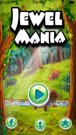 Jewel Mania Blast - Best Free Match Blitz Kids Games