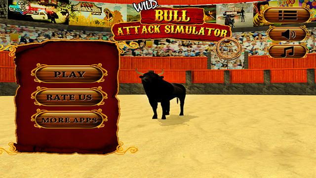 Wild Bull Attack Simulator 3D