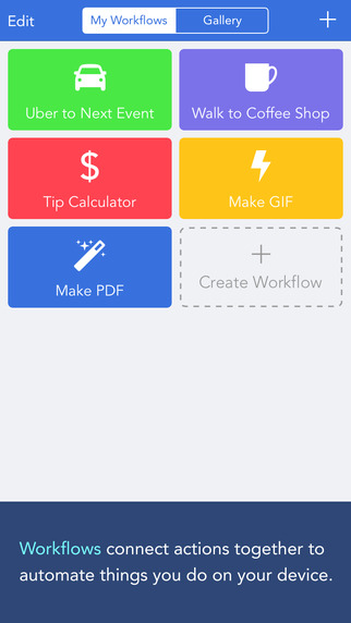 【视频评测】有了它,你的iPhone就可以实现自动化操作了!!!——工作流:Workflow