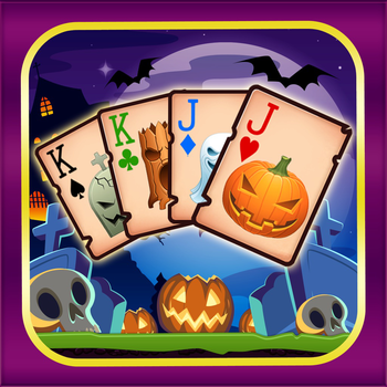 Chilling Halloween Tri Tower Pyramid Solitaire LOGO-APP點子